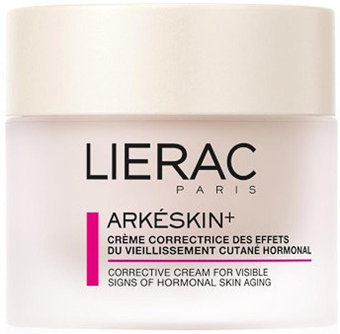 Lierac АРКЕСКИН+ крем 50 млL1014Сверхпитательный крем приносит бесподобный комфорт сухой и очень сухой коже. Это средство, содержащее цитоперламутр SP (0,5%) и 5 % экстракта каштана, ежедневно борется против признаков старения кожи и делает её упругой, эластичной и визуально более молодой. Крем выравнивает цвет лица, предупреждая появление пигментных пятен.