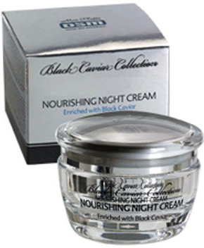 Mon Platin Ночной питательный крем DSM Black Caviar Collection , обогащенный черной икрой 50мл mon platin сыворотка активный гель против морщин