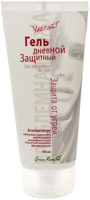 Гель Green Mama дневной, защитный, для проблемной кожи, 100 мл251gГель обладает ярко выраженным противовоспалительным действием. Благодаря высокому содержанию фитоэкстрактов он регулирует жировой баланс, увлажняет, насыщает витаминами и минералами, не иссушая кожу. Азелаиновая кислота, входящая в состав геля, – одно из самых эффективных средств против угрей. НЕ СОДЕРЖИТ: жиры, алкоголь, минеральное масло, изопропилмиристат, синтетические отдушки и красители.Характеристики:Объем: 100 мл. Производитель: Россия. Франко-российская производственная компания Green Mama была образована в 1996 году и выросла из небольшого семейного бизнеса. В настоящее время Green Mama является одним из признанных мировых специалистов в области разработки и производства натуральных косметических продуктов.Косметические средства Green Mama содержат только натуральные растительные компоненты, без животных жиров. Содержание натуральных компонентов в средствах Green Mama достигает 98%. Чтобы создать такой продукт специалисты компании используют новейшие достижения науки и технологии косметического производства.В компании разработана и принята в производстве концепция Aromaenergy, согласно которой в косметические продукты введены 100% натуральные эфирные масла.Кроме того, Green Mama полностью отказалась от использования синтетических отдушек и красителей, поэтому продукция компании является гипоаллергенной. Товар сертифицирован.