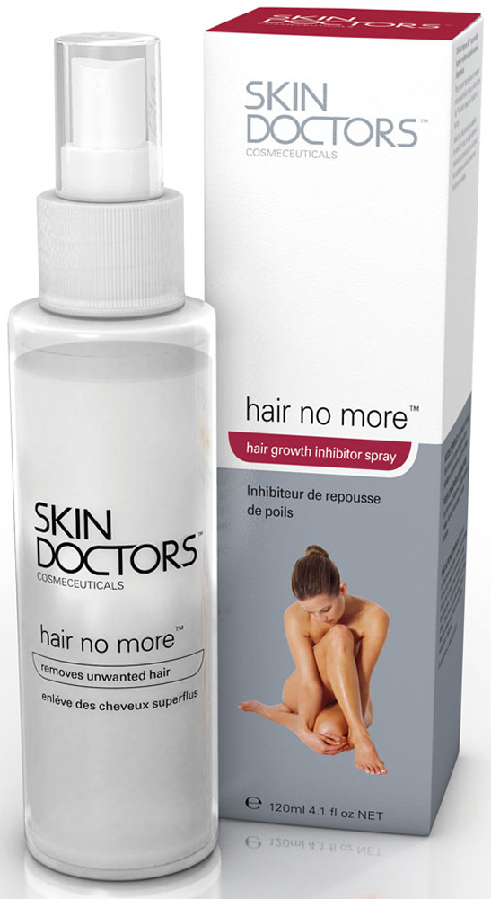 Skin Doctors Спрей для замедления роста волос Hair No More, 120 мл2006Тщательно разработанная формула спрея включает ферменты экзотических растений. Состав не проникает глубоко в кожу и оказывает лишь местное действие. Его надо использовать четыре или пять раз в неделю после того, как нежелательные волосы был удалены с помощью крема для депиляции. Применение спрея помогает замедлить рост волос, а также смягчить, освежить и успокоить кожу. Характеристики: Объем: 120 мл. Производитель: Австралия. Артикул: 2006.Товар сертифицирован.Уважаемые клиенты!Обращаем ваше внимание на возможные изменения упаковки товара.