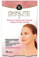 Гелевые подушечки Skinlite против морщин под глазами, 12 шт082Гелевые подушечки Skinlite специально разработаны для чувствительной и склонной к раннему старению кожи под глазами.Гелевые подушечки эффективно и бережно разглаживают морщинки и гусиные лапки вокруг глаз, а также уменьшают отеки и темные круги. Уникальная гелевая основа позволяет питательным и увлажняющим ингредиентам глубоко проникать в структуру кожи и оказывать длительное воздействие. Кожа становится более упругой, эластичной и гладкой.Благодаря специальной формуле Вы ощутите первый результат немедленно после применения. После 4-х недель использования количество морщинок значительно сократится.Гелевые подушечки подходят для всех типов кожи.Рекомендуется использовать 5 раз в первую неделю по 30 минут или 3 раза в неделю при ночном использовании. Подушечки можно оставить на всю ночь или как минимум на 6 часов Характеристики: Количество подушечек: 12 шт. Производитель: Корея.Товар сертифицирован.