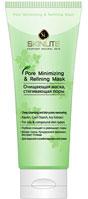 Очищающая маска Skinlite, стягивающая поры, 100 млSL-701Очищающая маска Skinlite, стягивающая поры глубоко очищает и уменьшает поры.Маска содержит уникальную успокаивающую формулу, которая мягко удаляет омертвевшие частички кожи, забивающие поры. Входящие в ее состав натуральные компоненты, такие как белая глина, кукурузный крахмал, экстракт плюща, экстракт корня белой шелковицы, обладают тонизирующими и вяжущими свойствами, оказывают противовоспалительное и смягчающее действие, активизируют водно-солевой обмен и прекрасно очищают кожу.Маска ускоряет процесс обновления клеток кожи, способствует сужению пор и улучшает обменные процессы, чистит кожу от жировых выделений и дарит ей удивительное ощущение свежести и комфорта. Характеристики: Вес: 100 мл. Артикул: SL-701. Производитель: Южная Корея. Товар сертифицирован.
