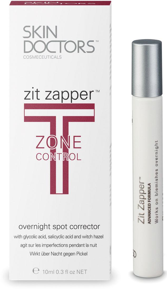 Skin Doctors Лосьон-карандаш T-Zone Control Zit Zapper, для проблемной кожи, 10 мл952215Лосьон-карандаш Zit Zapper - средство для интенсивного лечения угрей, которое всего за 8 часов заметно улучшает состояние кожи. В результате научных разработок была получена совершенно новая формула, позволяющая добиться уменьшения угрей за счет подсушивания в течение ночи.В отличие от других средств ежедневного использования, которые очищают кожу и устраняют причины появления прыщей, действие Zit Zapper направлено на их быстрое подсушивание.Действие Zit Zapper обусловлено:Глубоким очищением пор и отшелушиванием отмерших клеток;Подсушивающим эффектом;Очищением пораженного участка;Снятием воспаления. Характеристики: Объем: 10 мл. Производитель: Австралия. Артикул: 2210.Товар сертифицирован.