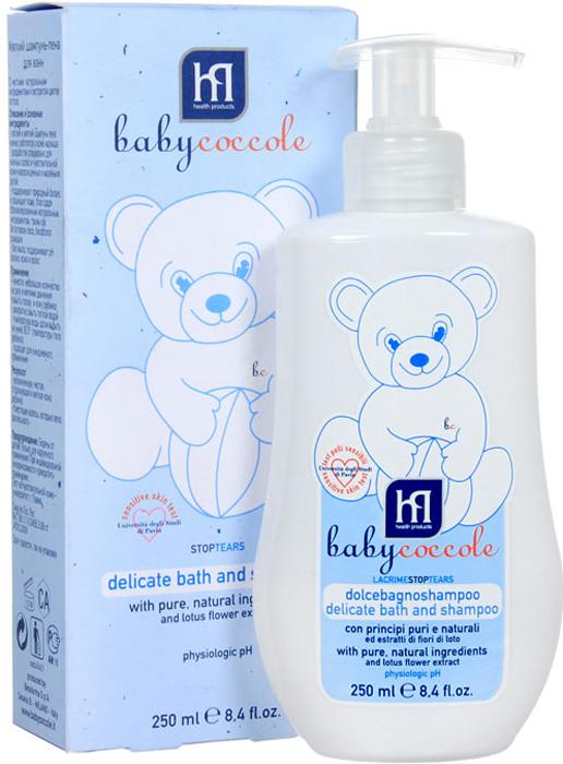"Фото Babycoccole Шампунь-пена ""The Bath"" для ванн, мягкий, 250 мл"