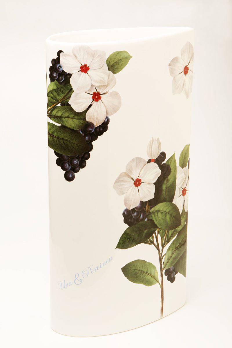 Ваза Ceramiche Viva Нежность, высота 30 см ваза русские подарки мозаика высота 30 см 86722