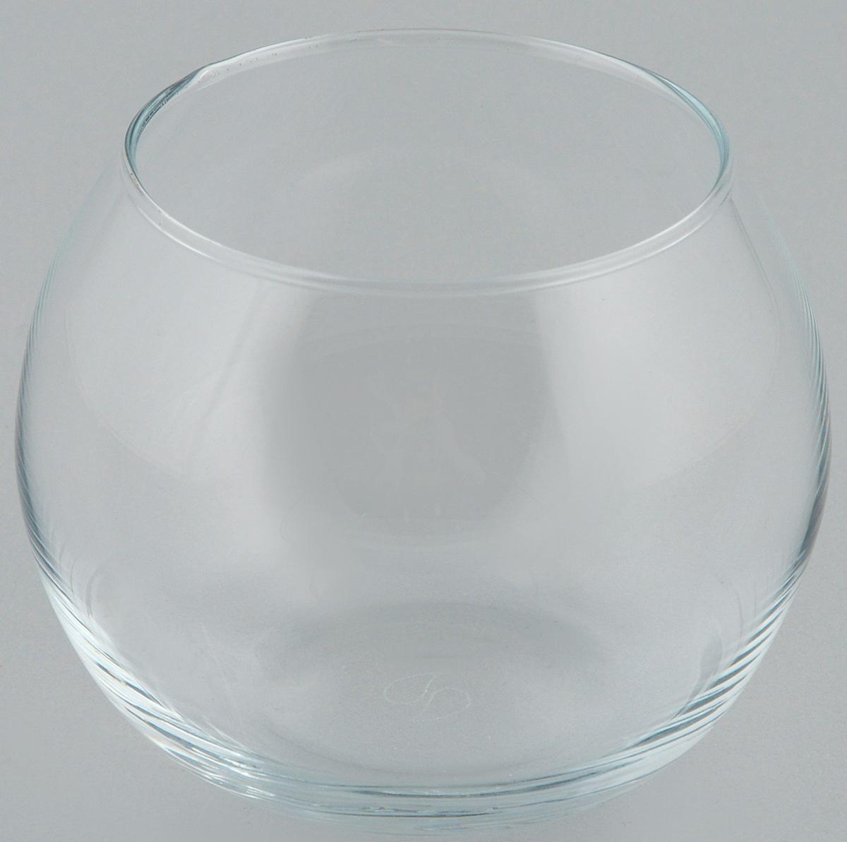 """Декоративная ваза Pasabahce """"Flora"""" выполнена  из высококачественного прозрачного стекла. Изделие придется по вкусу и ценителям классики, и  тем, кто предпочитает утонченность и изящность.  Вы можете поставить вазу в любом месте, где она  будет удачно смотреться и радовать глаз. Такая  ваза подойдет для декора интерьера. Кроме того -  это отличный вариант подарка для ваших близких и  друзей.   Высота вазы: 7,9 см."""