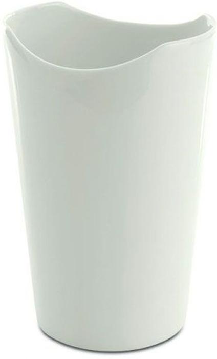 Ваза BergHOFF Eclipse, цвет: белый, высота 16 см3700442Ваза BergHOFF Eclipse- элегантная ваза выполненная из фарфора белого цвета, послужит отличным дополнением к интерьеру вашего дома. Необычный дизайн вазы делает этот предмет не просто сосудом для цветов, но и оригинальным сувениром, который радует глаз и создает настроение. Окружая себя красивыми вещами, вы создаете в своем доме атмосферу гармонии, тепла и комфорта.