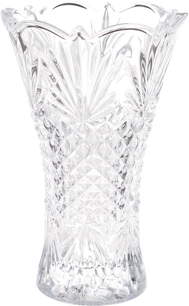 Ваза Crystalite Bohemia Вега, высота 20,5 см ваза crystalite bohemia вулкано 30см кристалайт