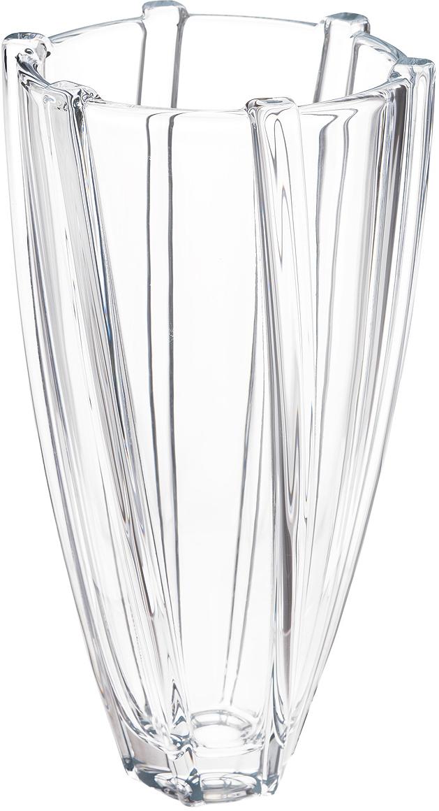 Ваза Crystalite Bohemia Инфинити, высота 30 см8KE28/99M20/305Изящная ваза Crystalite Bohemia Инфинити изготовлена из прочного утолщенного стекла кристалайт. Она красиво переливается и излучает приятный блеск. Ваза оснащена оригинальной слегка закрученной поверхностью и выпуклыми вставками, что делает ее изящным украшением интерьера. Ваза Crystalite Bohemia Инфинити дополнит интерьер офиса или дома и станет желанным и стильным подарком.