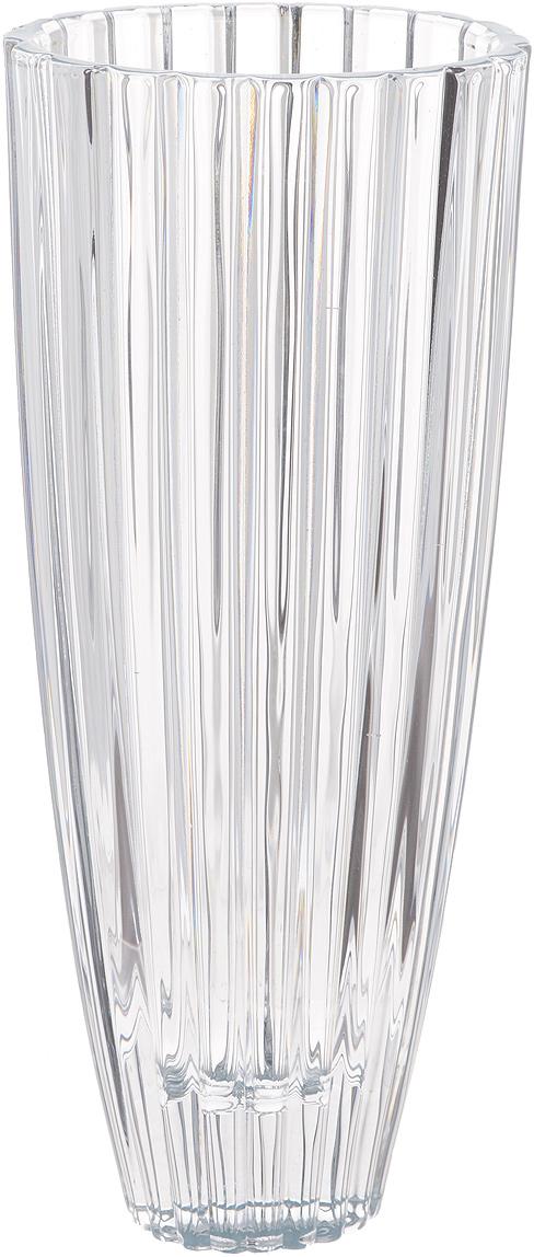 Ваза Crystalite Bohemia Овал, высота 35,5 см8KG34/0/99T42/355Изящная ваза Crystalite Bohemia Овал изготовлена из прочного утолщенного стекла кристалайт. Она красиво переливается и излучает приятный блеск. Ваза оснащена краями овальной формы и рельефной многогранной поверхностью, что делает ее изящным украшением интерьера. Ваза Crystalite Bohemia Овал дополнит интерьер офиса или дома и станет желанным и стильным подарком.