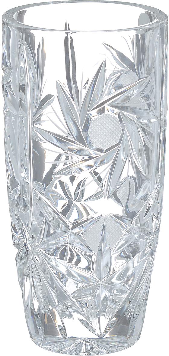Ваза Crystal Bohemia, высота 20,5 см вазы pavone ваза хризантема