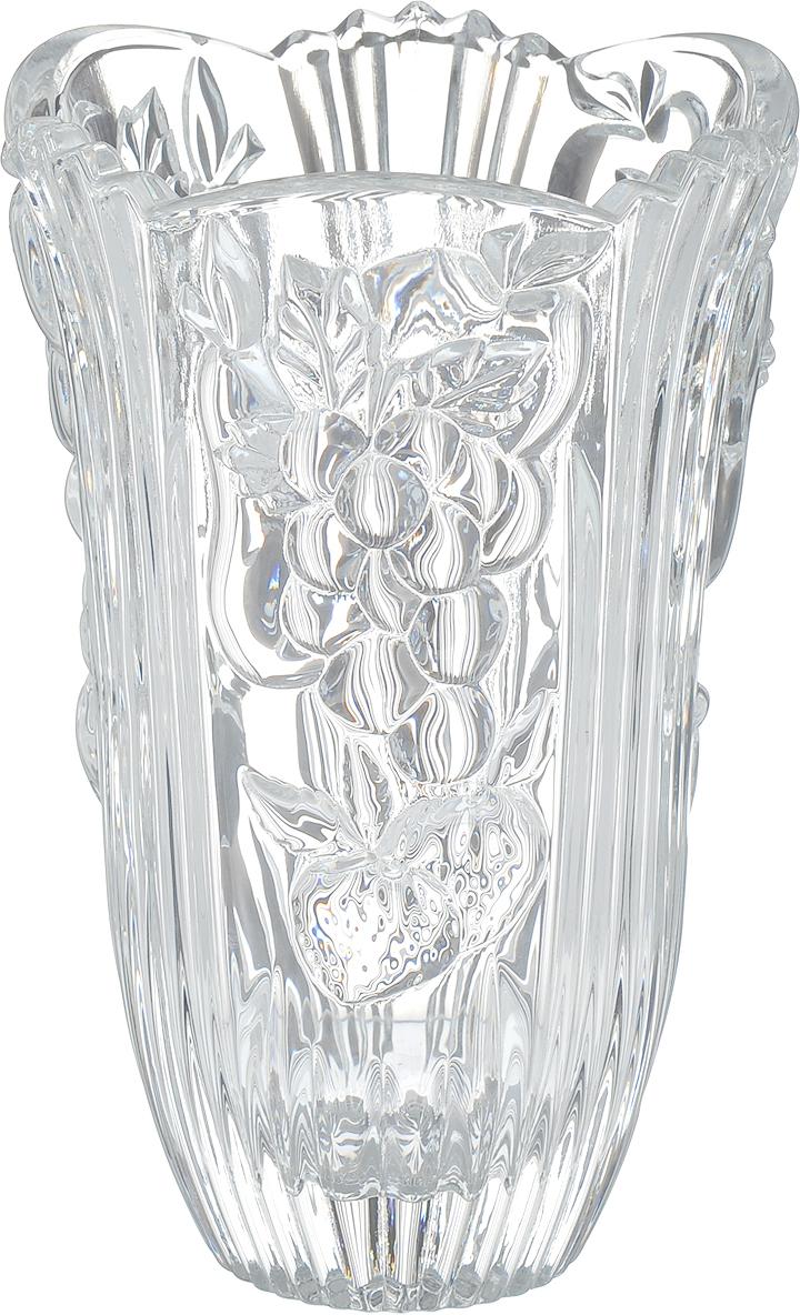 Ваза Crystal Bohemia Фрукты, высота 16 см. 930/80310/0/68300/155-109930/80310/0/68300/155-109Изящная ваза Crystal Bohemia Фрукты изготовлена из хрусталя. Ваза оформленакрасивым рельефным рисунком в виде различных фруктов, что делает ее изящнымукрашениеминтерьера, и излучает приятный блеск. Ваза Crystal Bohemia Фрукты дополнит интерьер офиса или дома и станетжеланным истильнымподарком. Высота вазы: 16 см. Диаметр вазы (по верхнему краю): 10 см. Диаметр дна: 5 см.