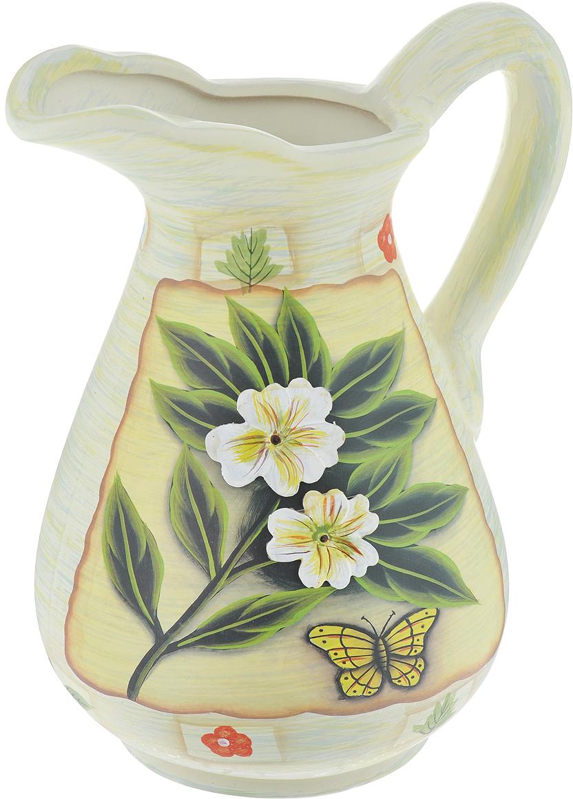 Ваза Lillo Цветы, высота 26 см ваза кружева цветов 26 см