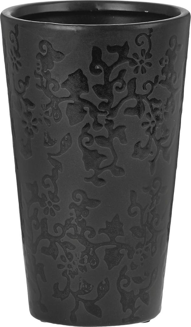 Ваза Sima-land Кружева, высота 19,5 см863609Ваза Sima-land Кружева изготовлена из высококачественной керамики. Изделие оформленоизящным рельефным узором и оснащено антискользящими накладками на дне. Такая стильная ваза с легкостьювпишется практически в любой интерьер. Она станет изумительным подарком, которыйдоставит радость, ведь это не только красивый, но еще и функциональный презент.