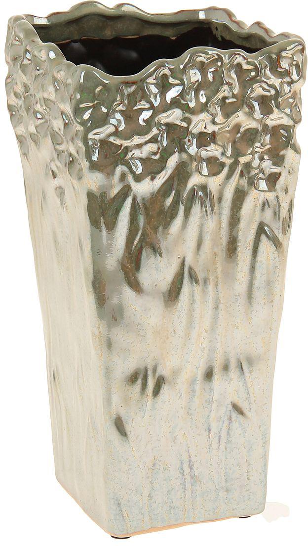 Ваза Sima-land Перелив, высота 23,5 см свеча ароматизированная sima land лимон на подставке высота 6 см