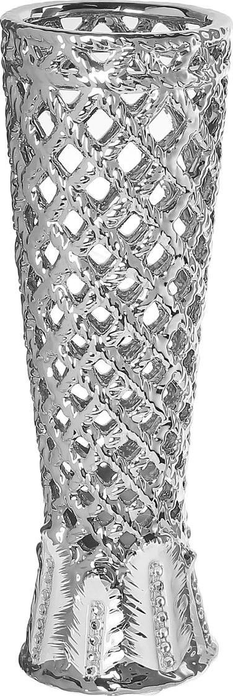 Ваза Sima-land Серебряная сетка, высота 28,5 см. 866199 ваза sima land серебряная роза высота 18 см
