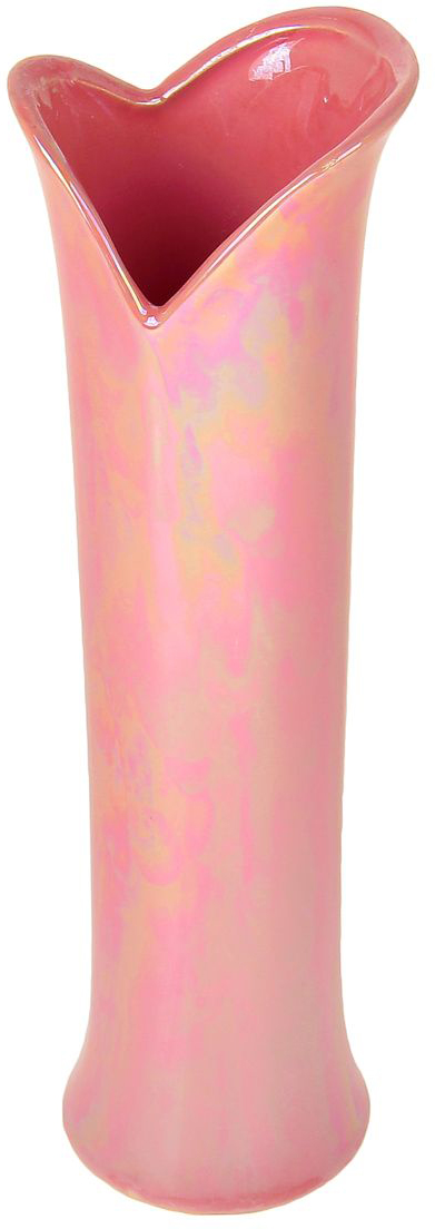 Ваза Sima-land Розовый рассвет, высота 29 см863623Ваза Sima-land Розовый рассвет с завораживающими золотыми переливами,изготовленная из высококачественной керамики, наполнит помещениеромантичностью и предрассветной негой. Дно изделия оснащено противоскользящими накладками. Вазу можно использовать как декоративный элемент, поставить в нее букетпрекрасных цветов или декоративных веточек.Нарядная и утонченная вазаSima-land Розовый рассвет станет великолепнымподарком на любой праздник.
