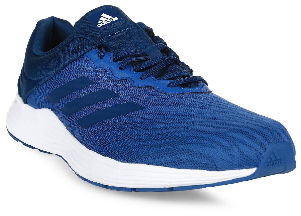 Кроссовки для бега мужские Adidas Fluidcloud M, цвет: синий. BB3329. Размер 11,5 (45)BB3329Мягкость и комфорт от старта до финиша на ежедневных пробежках. Мужские беговые кроссовки Adidas Fluidcloud M с промежуточной подошвой cloudfoam для адаптивной амортизации и с дышащим сетчатым верхом. Прочная подошва не теряет своих свойств в течение долгого времени.Тип поддержки стопы: нейтральный.Верх выполнен из крупной сетки для максимальной вентиляции. Люверсы анатомической формы для максимально естественных движений. Промежуточная подошва cloudfoam для поглощения ударных нагрузок и комфортной посадки без разнашивания; удобная и функциональная стелька OrthoLite с антимикробным покрытием.Расщепленная подошва для гибкости и независимого движения носка и пятки. Исключительно износостойкая подошва ADIWEAR. Перепад высоты на промежуточной подошве: 9 мм (пятка: 23 мм / носок: 14 мм).