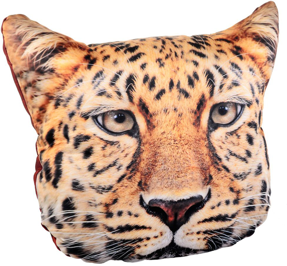 Подушка декоративная Gift'n'Home Леопард, 40 x 40 см ортопедическая подушка в автомобиль в кировограде