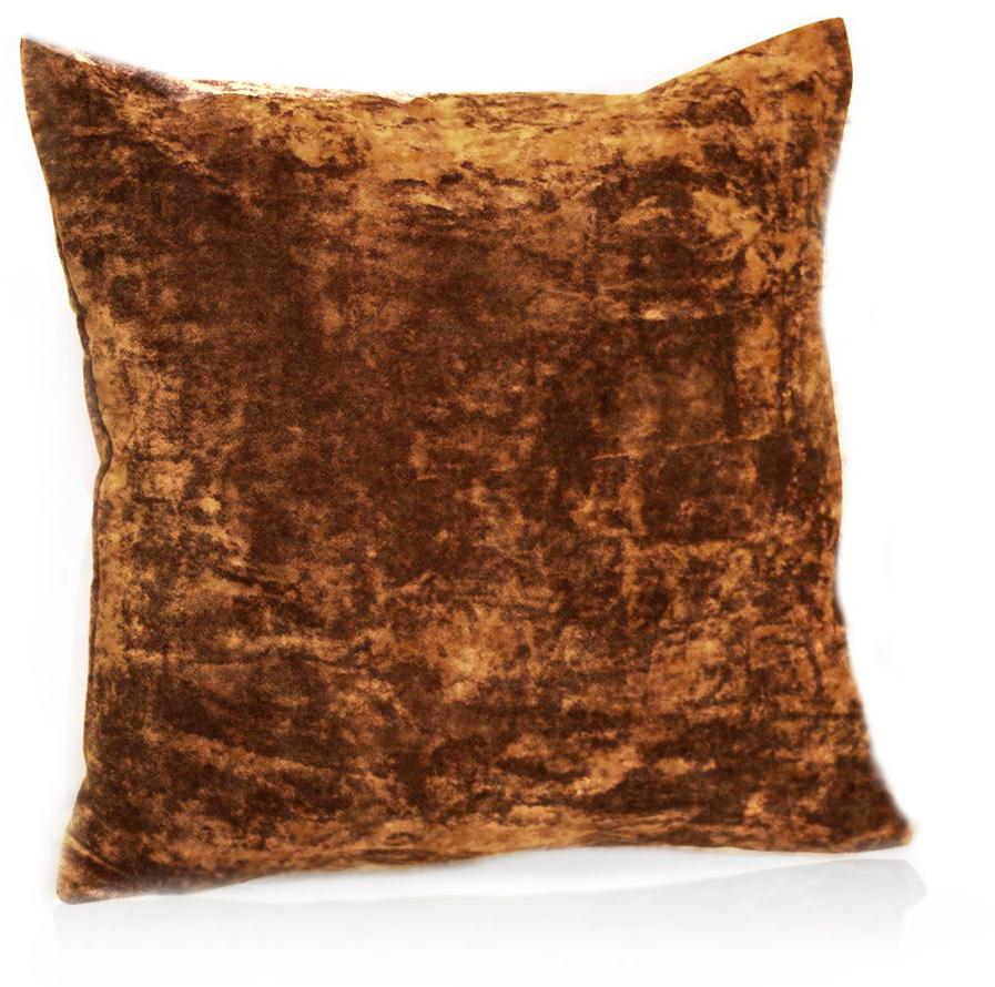 Подушка декоративная KauffOrt Бархат, цвет: терракотовый, 40 x 40 см3121039656Декоративная подушка Бархат прекрасно дополнит интерьер спальни или гостиной. Бархатистый на ощупь чехол подушки выполнен из 49% вискозы, 42% хлопка и 9% полиэстера. Внутри находится мягкий наполнитель. Чехол легко снимается благодаря потайной молнии.