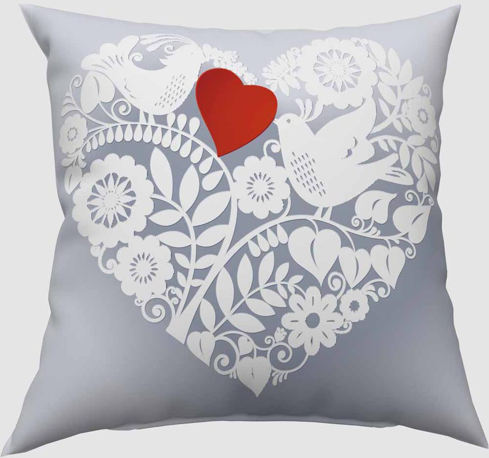 Подушка декоративная Сирень Ажурное сердце, 40 х 40 см02507-ПШ-ГБ-012Декоративная подушка Сирень Ажурное сердце, изготовленная из габардина (100% полиэстер), прекрасно дополнит интерьер спальни или гостиной. Подушка оформлена красочным изображением. Внутри - мягкий наполнитель из холлофайбера (100% полиэстер). Красивая подушка создаст атмосферу тепла и уюта в спальне и станет прекрасным элементом декора.