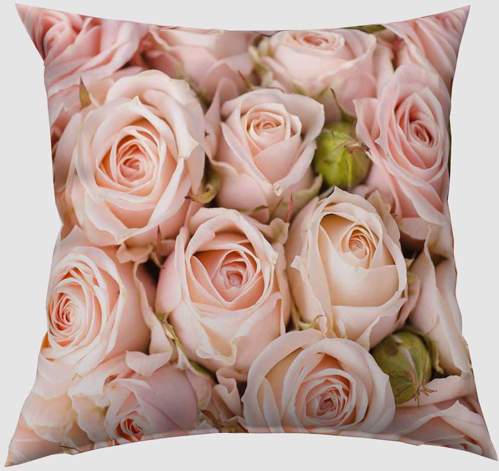 Подушка декоративная Сирень Молодые розы, 40 х 40 см02365-ПШ-ГБ-012Декоративная подушка Сирень Молодые розы, изготовленная из габардина (100% полиэстер), прекрасно дополнит интерьер спальни или гостиной. Подушка оформлена красочным изображением. Внутри - мягкий наполнитель из холлофайбера (100% полиэстер).Красивая подушка создаст атмосферу тепла и уюта в спальне и станет прекрасным элементом декора.