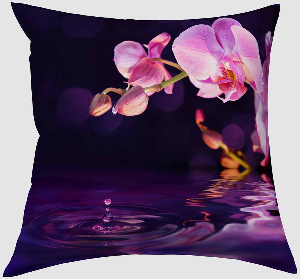 Подушка декоративная Сирень Орхидея над водой, 40 х 40 см02656-ПШ-ГБ-012Декоративная подушка Сирень Орхидея над водой, изготовленная из габардина (100% полиэстер), прекрасно дополнит интерьер спальни или гостиной. Подушка оформлена красочным изображением. Внутри - мягкий наполнитель из холлофайбера (100% полиэстер).Красивая подушка создаст атмосферу тепла и уюта в спальне и станет прекрасным элементом декора.