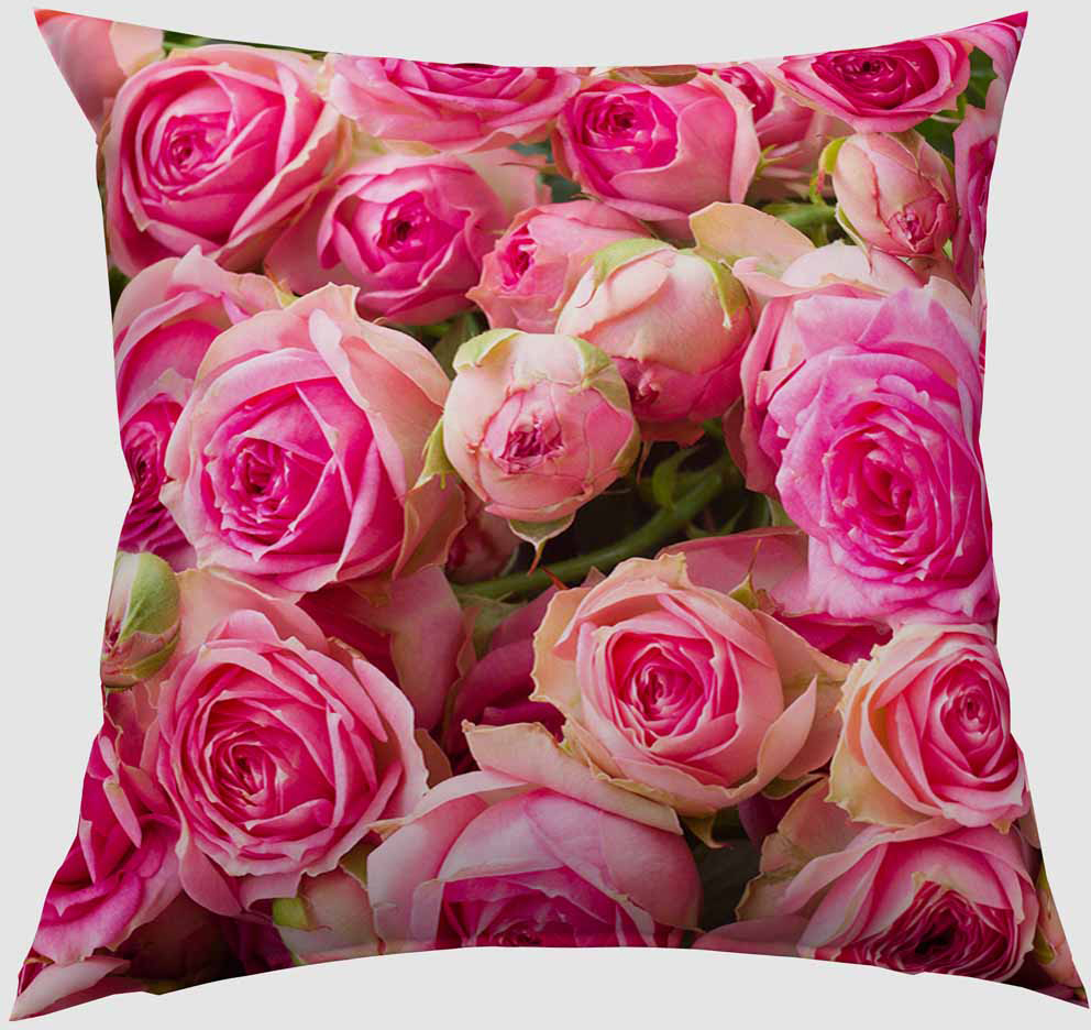 Подушка декоративная Сирень Россыпь роз, 40 х 40 см01834-ПШ-ГБ-012Декоративная подушка Сирень Россыпь роз, изготовленная из габардина (100% полиэстер), прекрасно дополнит интерьер спальни или гостиной. Подушка оформлена красочным изображением. Внутри - мягкий наполнитель из холлофайбера (100% полиэстер). Красивая подушка создаст атмосферу тепла и уюта в спальне и станет прекрасным элементом декора.