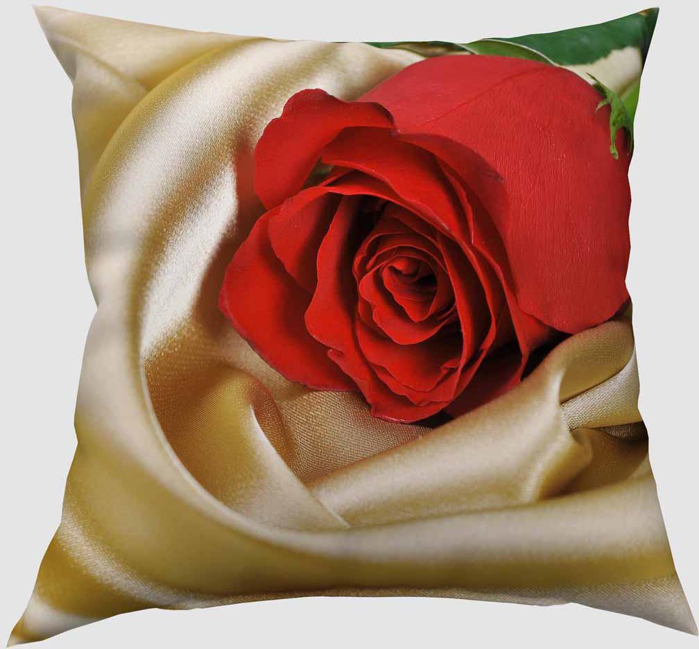 Подушка декоративная Сирень Красная роза, 40 х 40 см03047-ПШ-ГБ-012Декоративная подушка Сирень Красная роза, изготовленная из габардина (100% полиэстер), прекрасно дополнит интерьер спальни или гостиной. Подушка оформлена красочным изображением. Внутри - мягкий наполнитель из холлофайбера (100% полиэстер). Красивая подушка создаст атмосферу тепла и уюта в спальне и станет прекрасным элементом декора.