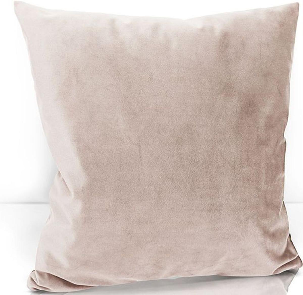 Подушка декоративная KauffOrt Велюр, цвет: светло-розовый, 40 х 40 см3122202671Декоративная подушка KauffOrt  прекрасно дополнит интерьер спальни или гостиной. Чехолподушки выполнен из велюра (100% полиэстер). Внутри находится мягкий наполнитель.Чехол легко снимаетсяблагодаря потайной молнии.