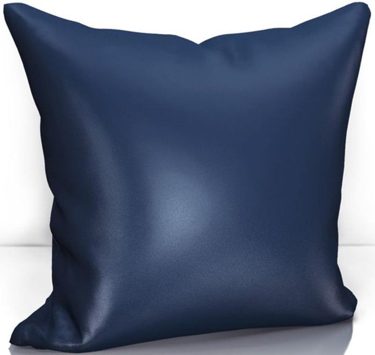 Подушка декоративная KauffOrt Эвелина, цвет: синий, 40 х 40 см3122301646Декоративная подушка KauffOrt  прекрасно дополнит интерьер спальни или гостиной. Чехолподушки выполнен из сатена (100% полиэстер). Внутри находится мягкий наполнитель.Чехол легко снимаетсяблагодаря потайной молнии.