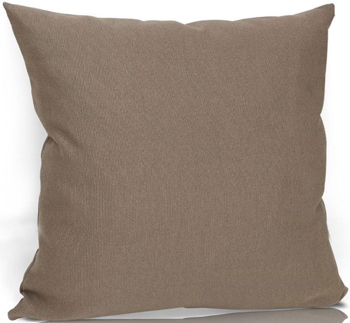 Подушка декоративная KauffOrt Натур, цвет: светло-коричневый, 40 х 40 см3122455630Декоративная подушка KauffOrt  прекрасно дополнит интерьер спальни или гостиной. Чехол подушки выполнен из 50% хлопка и 50% полиэстера. Внутри находится мягкий наполнитель. Чехол легко снимается благодаря потайной молнии.