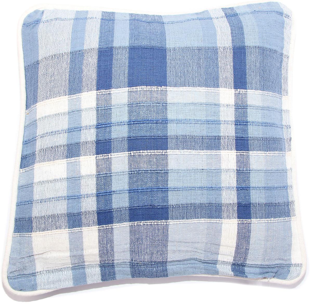 Наволочка декоративная Arloni, самотканая, 40 х 40, цвет: голубой, 2 шт. Нв/102/20ARLНв/102/20ARL