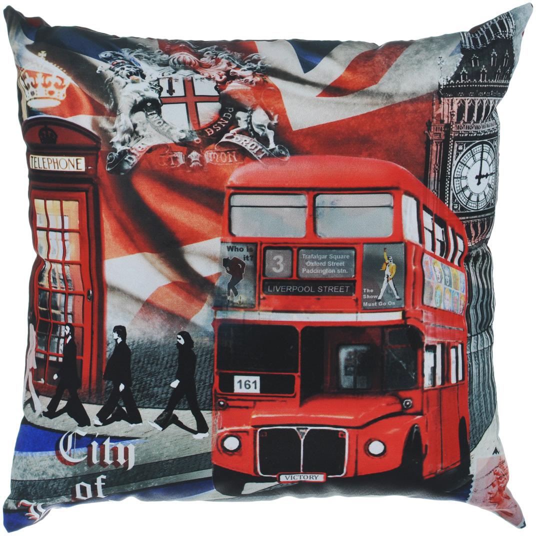 Подушка декоративная Gift'n'Home Лондонские фантазии, 35 см х 35 см ароматизатор auto standart подводная лодка кофе
