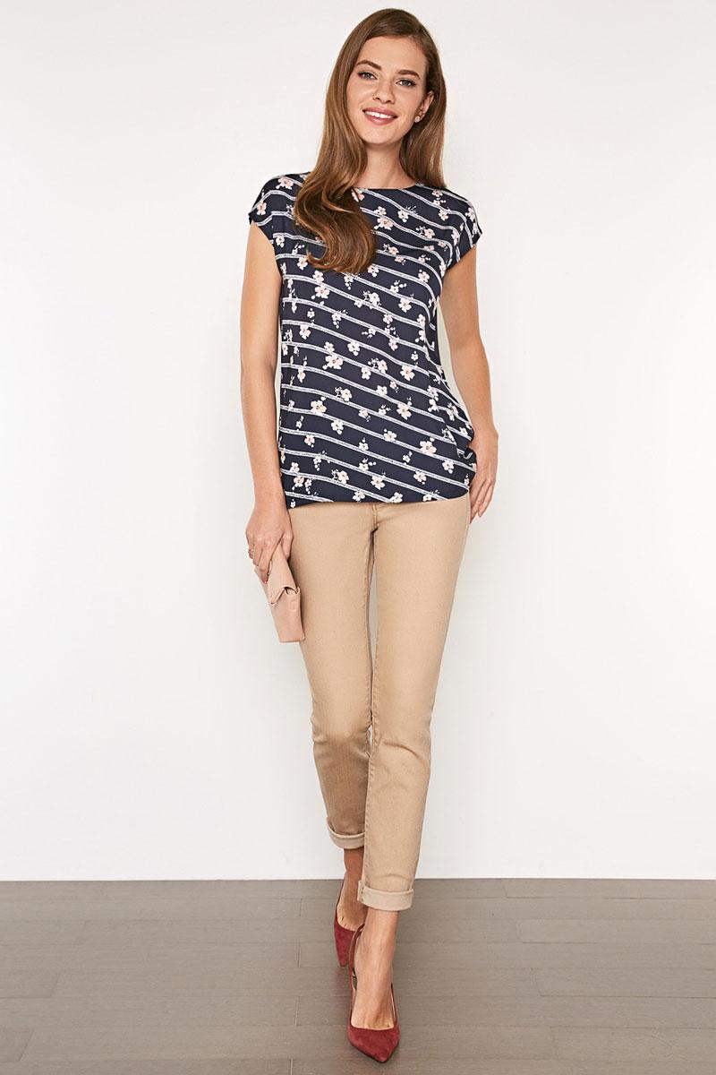 Топ женский Concept Club Tammy, цвет: черный. 10200110285_9000. Размер XS (42) блузка tammy