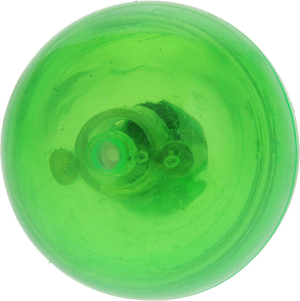 """Мяч для собак """"Camon"""", светящийся, 58 мм, цвет: зеленый"""