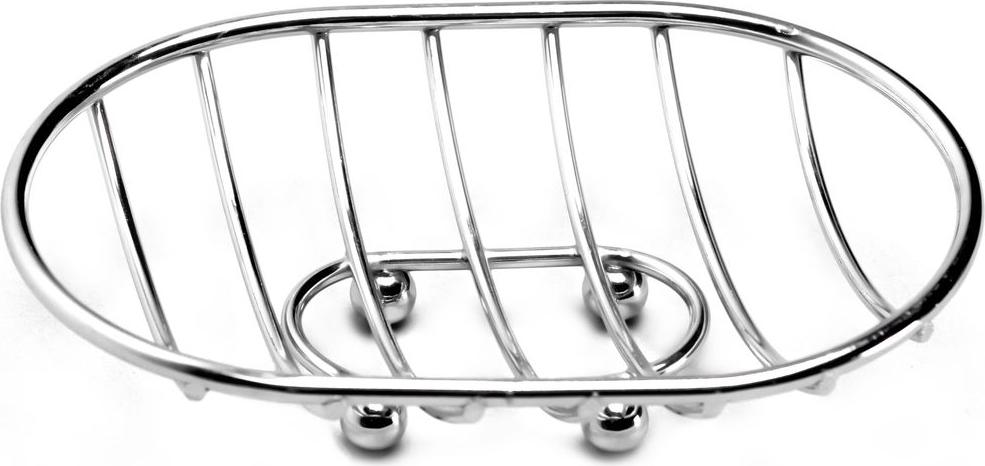 Мыльница Vanstore Neo, 13 х 9 х 6 см040-77Настольная мыльница Vanstore Neo выполнена из высококачественной стали. Изделие оснащено четырьмя ножками в форме шариков.Такая мыльница станет стильным и незаменимым аксессуаром в ванной.