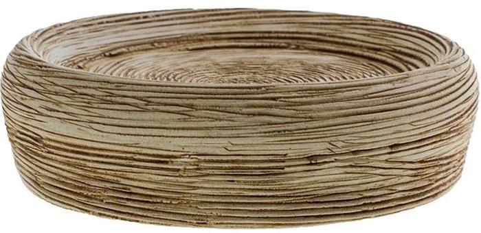 """Оригинальная мыльница Vanstore """"Bees Light"""", изготовленная из  высококачественной керамики, имеет рифленую поверхность. Мыльница  отличается легкостью и компактностью, при этом она устойчива на поверхности.  Такая мыльница прекрасно подойдет для интерьера ванной комнаты."""