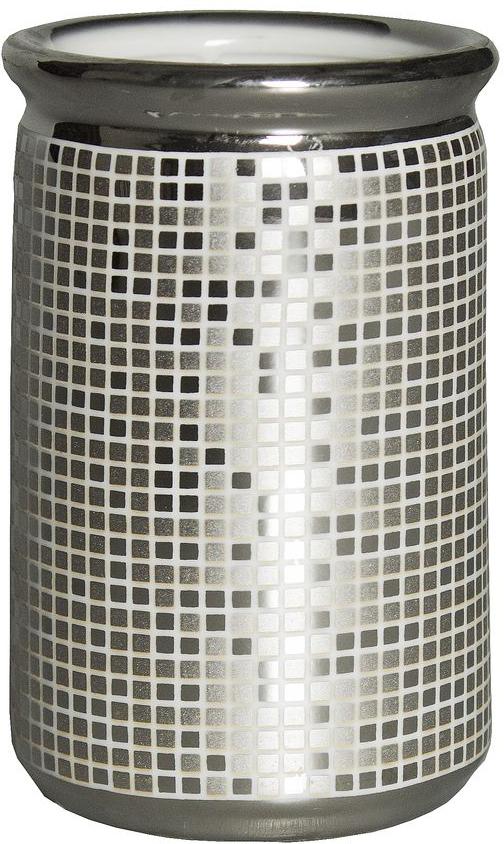 """Стакан для ванной Vanstore """"Mosaic""""  изготовлен из высококачественной керамики. В таком стакане удобно хранить зубные щетки,  тюбики с зубной пастой и другие принадлежности.  Стакан для ванной Vanstore """"Mosaic"""" стильно украсит интерьер  и добавит в обычную обстановку яркие и модные акценты."""