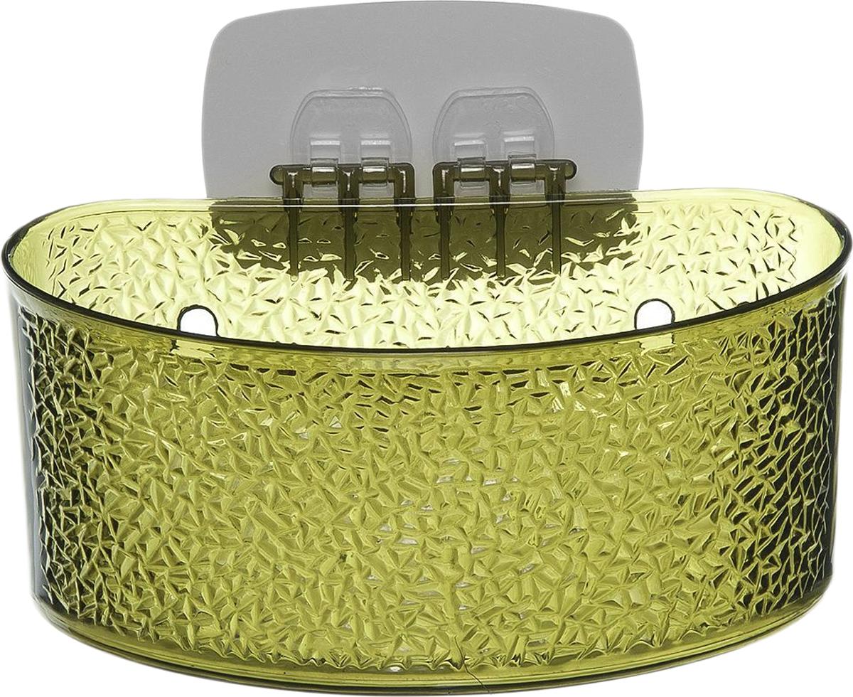Полка для ванной комнаты Fresh Code, на липкой основе, цвет: зеленый, 19 х 10 х 10 см64943_ зеленыйПолка для ванной комнаты Fresh Code выполнена из ABS пластика. Крепление налипкой основе многократного использования идеальноподходит для гладкой поверхности. Полка поможет создать настроение вашейванной комнаты. Подходит для всех типов гладких поверхностей.Максимальная нагрузка 3 кг.