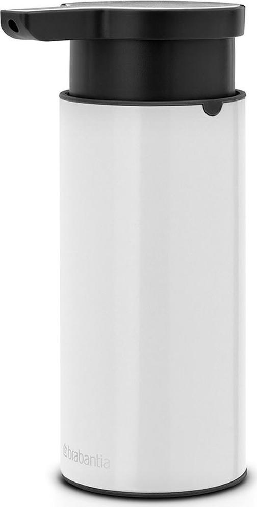 Диспенсер для жидкого мыла Brabantia, цвет: белый. 108181108181Идеальное решение для помещений с повышенной влажностью – выполнен из коррозионностойких материалов. Удобное наполнение сверху – широкое отверстие для заправки. Может использоваться для шампуней, лосьонов и т.п. Перед заправкой дозатора заполните емкость горячей водой и проведите очистку насосного механизма, несколько раз «прокачав» дозатор. Легко разбирается для проведения тщательной очистки. Широкое основание с противоскользящими свойствами обеспечивает отличную устойчивость.
