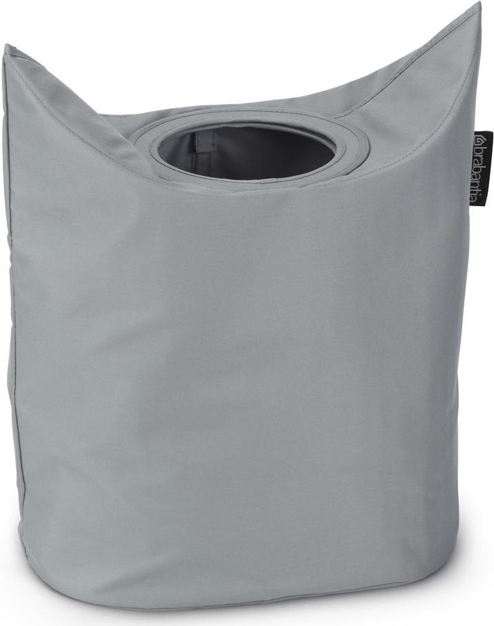 Оригинальная сумка для белья экономит место и превращает вашу стирку в  увлекательное занятие. С помощью складывающихся магнитных ручек сумка  закрывается и превращается в корзину для белья с загрузочным отверстием.  Собрались стирать? Поднимите ручки, и ваша сумка готова к использованию.  Загрузочное отверстие для быстрой загрузки белья просто сложите магнитные  ручки.Большие удобные ручки для переноски. Удобно загружать белье в  стиральную машину - большая вместимость и широкое отверстие. 2 года  гарантии Brabantia.
