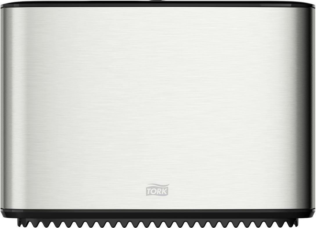 Диспенсер для туалетной бумаги Tork, цвет: металл. 460006460006Система T2 - для туалетной бумаги в мини рулонахСтопор рулона – препятствует бесконтрольному разматыванию рулона.Зубцы для отрыва бумаги, которыми невозможно порезаться.Функция частично использованного рулона Stub roll – красная отметка толщины рулона.Инструкция на крышке.Есть возможность закрепить визитную карточку.Высокая емкость.