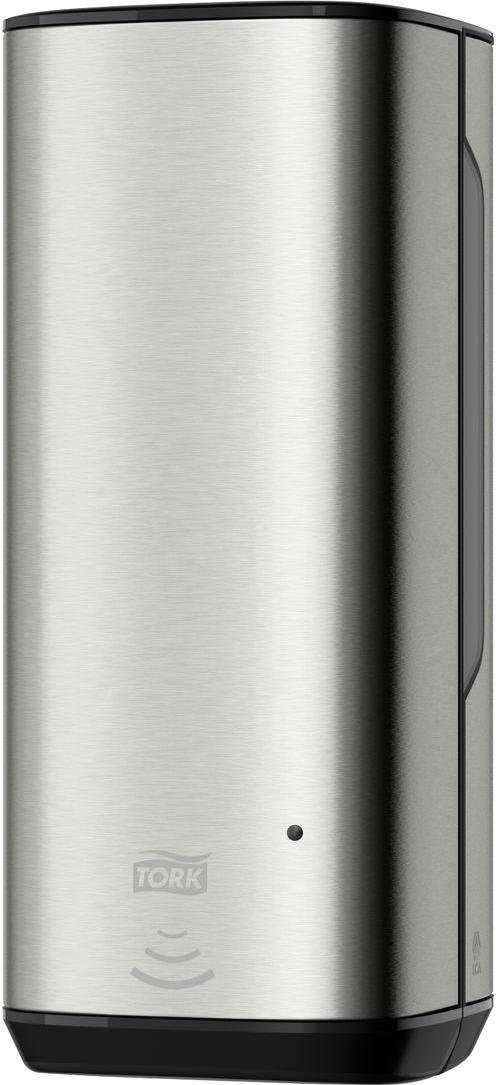 Диспенсер для мыла Tork, цвет: металл. 460009460009Диспенсер Tork обладает уникальными характеристиками:- Сочетание нержавеющей стали и пластика обеспечивает надежность и легкость диспенсеров -На поверхности не остается отпечатков пальцев и мыльных разводов;- Два режима работы замка: закрывается на ключ или работает как кнопка;- Смотровые окошки для быстрого контроля наличия расходного материала;- Сенсорный механизм - высокотехнологичное решение;- Доказанная простота обслуживания - значительная экономия времени персонала. Возможность задействовать освободившийся персонал в другой работе;- Световые индикаторы расхода картриджа и заряда батареи;- Одноразовый картридж - гарарнтия качества мыла;- Перезаправка за несколько секунд;- Дозирует 0,4мл мыла-пены.