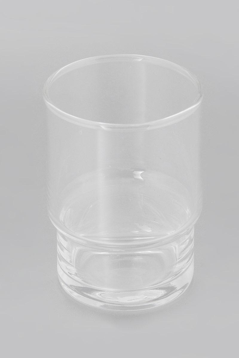 Стакан для зубных щеток Grohe Essentials, цвет: прозрачный, высота 9 см стакан для ванной umbra droplet цвет дымчатый 9 3 х 9 6 х 9 6 см