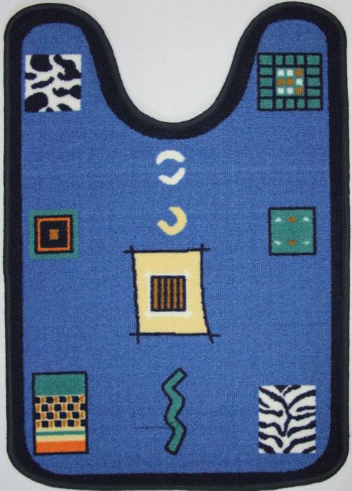 """Коврик MAC Carpet """"Розетта"""", выполненный из нейлона на резиновой основе, с успехом может применяться в ванных комнатах. Нейлон обеспечивает повышенную износостойкость и простоту в уходе. Коврик """"Розетта"""" - это прекрасное решение для ванной комнаты."""