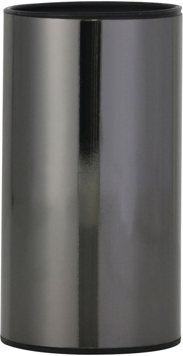 """Стакан для ванной комнаты Axentia """"Bologna"""" изготовлен из сатинированной нержавеющей стали черного цвета снаружи и черного полипропилена внутри. Изделие превосходно дополнит интерьер ванной комнаты, отлично сочетается с другими аксессуарами из коллекции """"Bologna"""".Высота стакана: 11,8 см.Диаметр стакана: 6,3 см."""