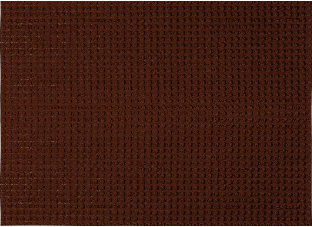 """Придверный коврик Vortex """"Травка"""",  выполненный из резины, прост в обслуживании,  прочный и устойчивый. Конструкция коврика  имеет специальную поверхность, которая  помогает более эффективно удалить грязь с  обуви.  Его основа предотвращает скольжение по  гладкой поверхности и обеспечивает надежную  фиксацию.  Такой коврик надежно защитит помещение от  уличной пыли и грязи."""