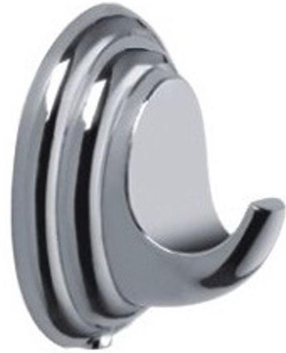 Крючок настенный Vanstore Овал, одинарный, 15 х 10 х 6 см003-27Настенный крючок Vanstore Овал, изготовленный из высококачественной хромированной стали, устойчивой к высокой влажности, подходит для использования в ванной, на кухне, в коридоре.Крючок Vanstore Овал идеально дополнит и подчеркнет ваш интерьер.