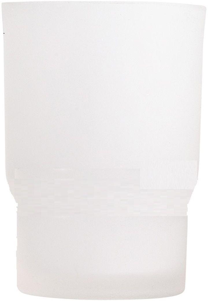 Стакан для ванной комнаты Vanstore Овал, 6,7 х 6,7 х 9,5 см003-20Стакан для ванной комнаты Vanstore Овализготовлен из высококачественного матового стекла.В стакане удобно хранить зубные щетки, тюбики с зубнойпастой и другие принадлежности.Такой аксессуар для ванной комнаты стильно украситинтерьер и добавит в обычную обстановку яркие и модныеакценты.Изделие отлично сочетается с другими аксессуарами изколлекции Овал. Может служит дополнительнымстаканом для комплекта 003-23.